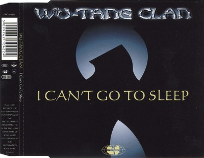 Wu-Tang Clan – I Can't Go To Sleep (CDM) (2001) (FLAC + 320 kbps)