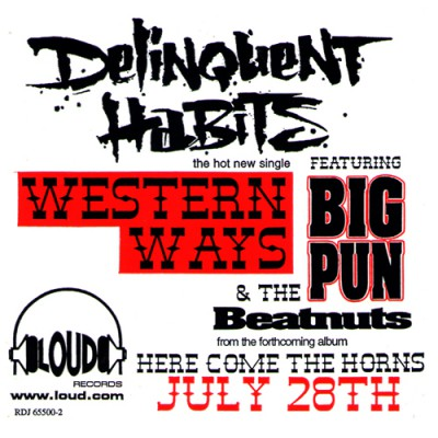 Delinquent Habits – Western Ways (1998)