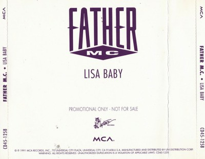 Father MC – Lisa Baby (Promo CDM) (1991) (320 kbps)
