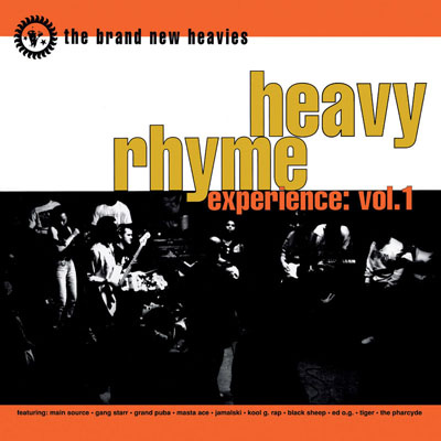The Brand New Heavies – Heavy Rhyme Experience Vol. 1 (CD) (1992) (FLAC + 320 kbps)