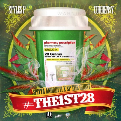 Curren$y & Styles P – #The1st28 EP (WEB) (2012) (FLAC + 320 kbps)