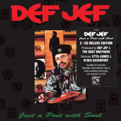 Def Jef – Just A Poet With Soul (Deluxe Edition) (2xCD) (1989-2012) (FLAC + 320 kbps)