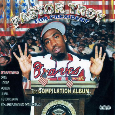 Pastor Troy – Pastor Troy For President (CD) (2000) (320 kbps)