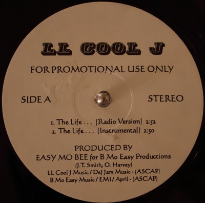 LL Cool J – The Life… / No Airplay (Promo VLS) (1995) (FLAC + 320 kbps)
