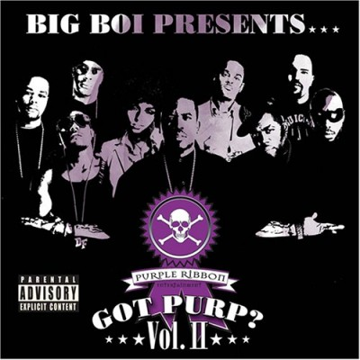 Big Boi Presents Purple Ribbon All-Stars – Got Purp, Vol. 2 (CD) (2005) (FLAC + 320 kbps)