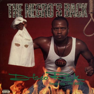 Disco Rick – The Negro's Back (CD) (1990) (FLAC + 320 kbps)