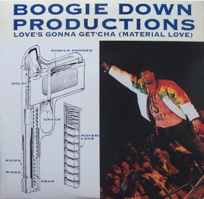Boogie Down Productions – Love's Gonna Get'cha (Material Love) (VLS) (1990) (FLAC + 320 kbps)