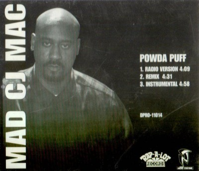 Mad CJ Mac ‎– Powda Puff (CDS) (1995) (FLAC + 320 kbps)