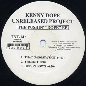 "Kenny Dope Unreleased Project ‎- The Pushin' ""Dope"" EP (Vinyl) (1994) (FLAC + 320 kbps)"
