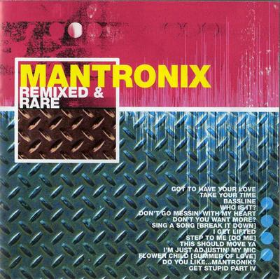 Mantronix – Remixed & Rare (CD) (2003) (FLAC + 320 kbps)