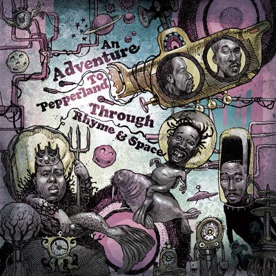 Tom Caruana – The Beatles vs. Hip-Hop Legends: An Adventure To Pepperland Through Rhyme & Space (WEB) (2015) (320 kbps)