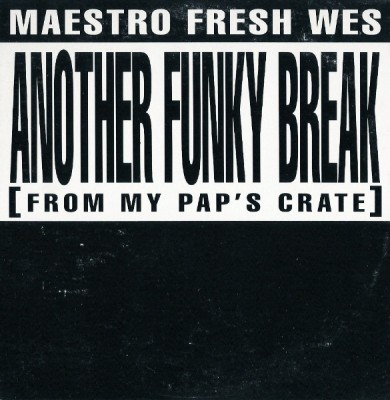 Maestro Fresh Wes – Another Funky Break (From My Pap's Crate) (Promo CDS) (1992) (320 kbps)