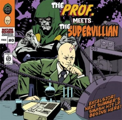 MF DOOM – The Prof. Meets The Supervillian # 0 EP (CD) (2003) (FLAC + 320 kbps)