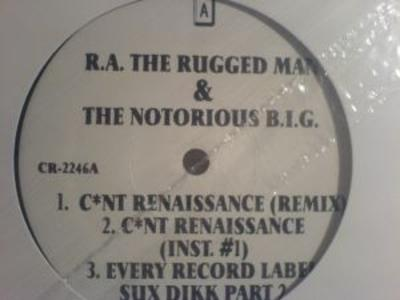 R.A. The Rugged Man & The Notorious B.I.G. – C*nt Renaissance (Remix) / Every Record Label Sux Dikk Part 2 / C*nt Renaissance (VLS) (1996) (FLAC + 320 kbps)