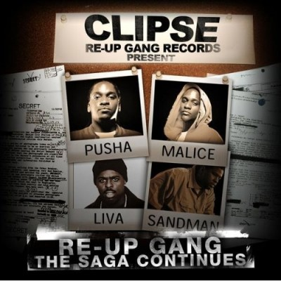 Clipse Presents: Re-Up Gang – The Saga Continues (CD) (2008) (FLAC + 320 kbps)