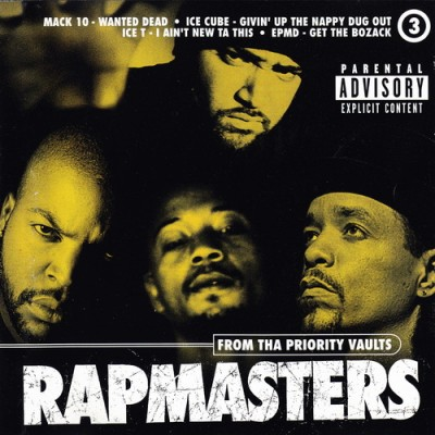 VA – Rapmasters: From Tha Priority Vaults, Volume 3 (CD) (1996) (FLAC + 320 kbps)