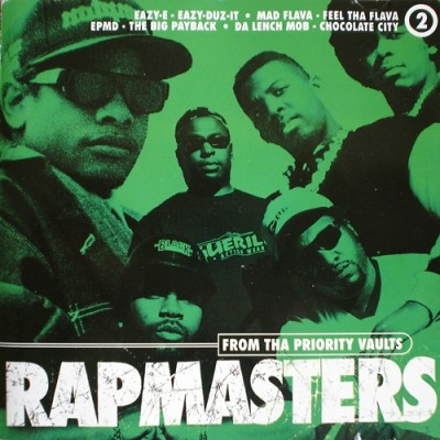 VA – Rapmasters: From Tha Priority Vaults, Volume 2 (CD) (1996) (FLAC + 320 kbps)