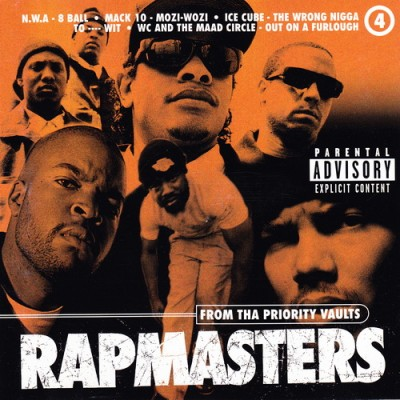 VA – Rapmasters: From Tha Priority Vaults, Volume 4 (CD) (1996) (FLAC + 320 kbps)