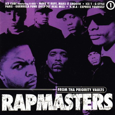VA – Rapmasters: From Tha Priority Vaults, Volume 1 (CD) (1996) (FLAC + 320 kbps)