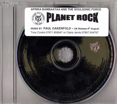 Afrika Bambaataa & Soulsonic Force – Planet Rock Remixes (2001) (CDS) (FLAC + 320 kbps)