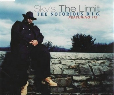 (1997) The Notorious B.I.G ft 112 - Sky's The Limit (Promo CDS) (FRONT)
