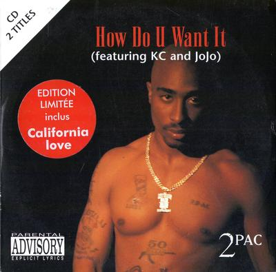 2Pac – How Do U Want It (France CDS) (1996) (320 kbps)