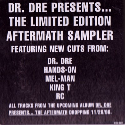 Dr. Dre – Presents…The Limited Edition Aftermath Sampler (2xLP) (1996) (320 kbps)