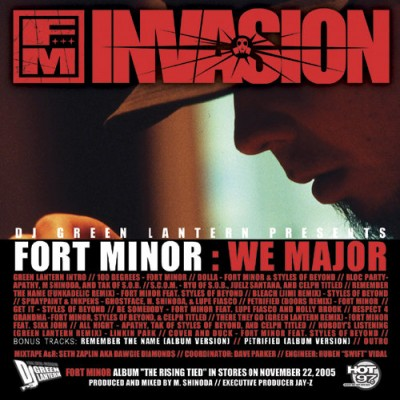 Fort Minor - We Major (FLAC)