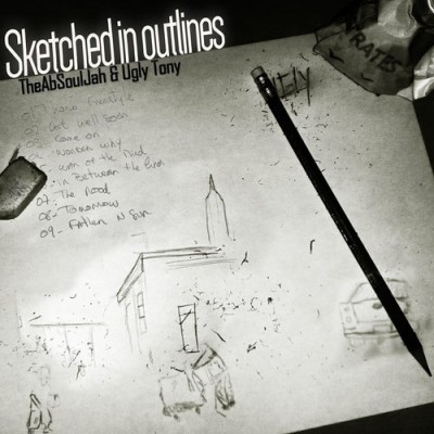 The AbSoulJah & Ugly Tony – Sketched In Outlines EP (WEB) (2015) (320 kbps)