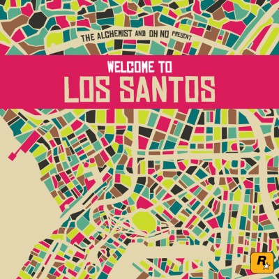 OST – The Alchemist & Oh No Present: Welcome To Los Santos (CD) (2015) (FLAC + 320 kbps)