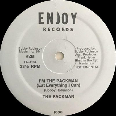 The Packman – I'm The Packman (Eat Everything I Can) (1982) (VLS) (FLAC + 320 kbps)