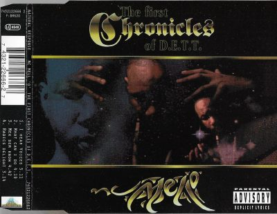 MC Mell 'O' – The First Chronicles Of D.E.T.T. EP (CD) (1994) (FLAC + 320 kbps)