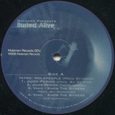Molemen - Burried Alive EP