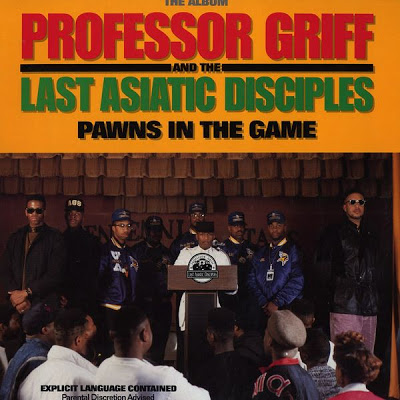 Professor Griff & The Last Asiatic Disciples – Pawns In The Game (CD) (1990) (FLAC + 320 kbps)