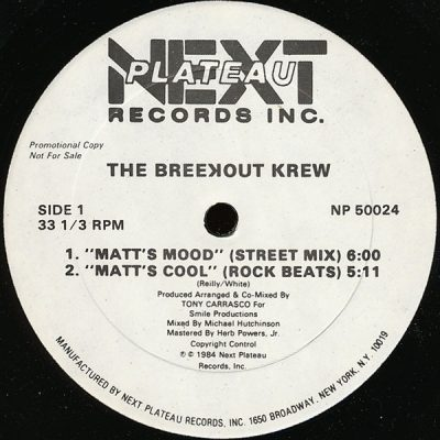 The Breekout Krew – Matt's Mood (1984) (VLS) (FLAC + 320 kbps)