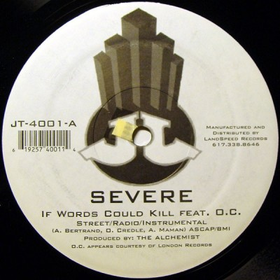 Severe - If Words Could Kill My Way