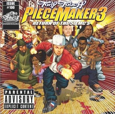 Tony Touch – The Piece Maker 3: Return Of The 50 MC's (CD) (2013) (FLAC + 320 kbps)