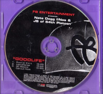 Nate Dogg Featuring Nas & JS of 54th Platoon – The Goodlife (2001) (Promo CDS) (FLAC + 320 kbps)