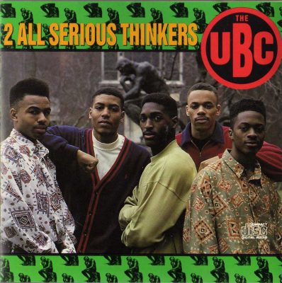 The UBC – 2 All Serious Thinkers (1990) (CD) (FLAC + 320 kbps)