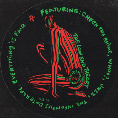 A Tribe Called Quest - The Low End Theory (Promo Vinyl) (1991)