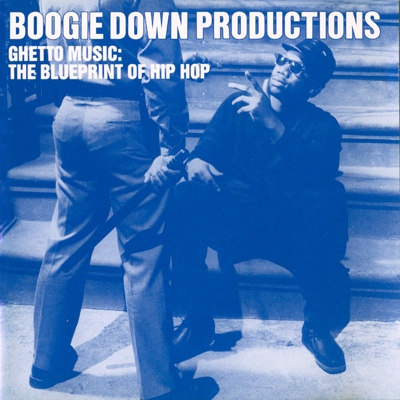 Boogie Down Productions – Ghetto Music: The Blueprint Of Hip Hop EP (Promo CD) (1989) (FLAC + 320 kbps)