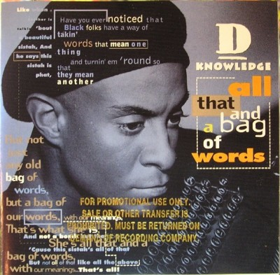 D-Knowledge - All That and a Bag of Words