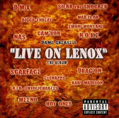 "Dame Grease – Dame Grease's ""Live On Lenox"". The Album (CD) (2000) (320 kbps)"