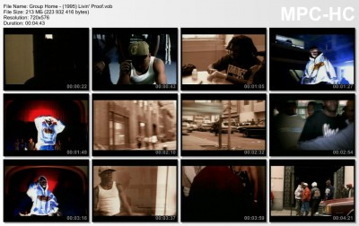 Group Home - (1995) Livin' Proof.vob