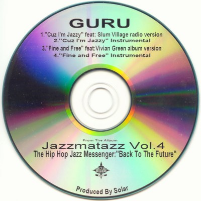 Guru - Jazzmatazz Volume 4 Promo Single