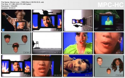Monie Love - (1993) Born 2 B.R.E.E.D