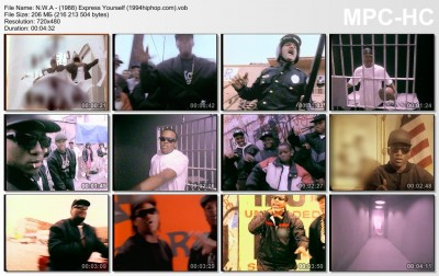 N.W.A - (1988) Express Yourself (1994hiphop.com)