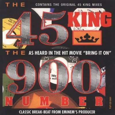 The 45 King ‎– The 900 Number EP (CD) (1991) (FLAC + 320 kbps)