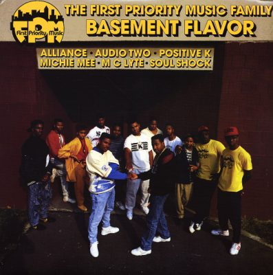 VA – The First Priority Music Family: Basement Flavor (CD) (1988) (FLAC + 320 kbps)