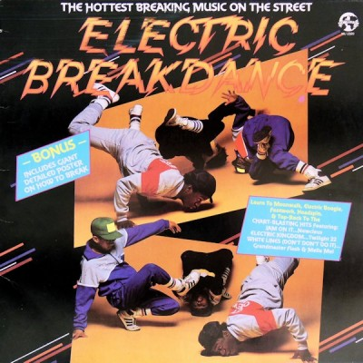 Various - Electric Breakdance (NU 2320) - Cover